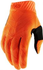 New 100% Ridefit Glove Flo Orange/Black S M L XL Motocross